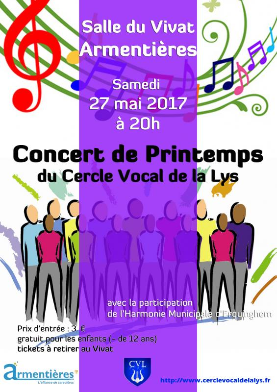 Concert de Printemps 2017